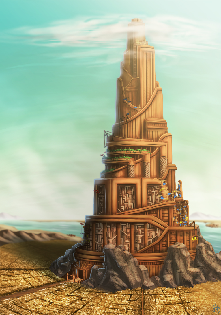 Tower of Babel (Outside Scenery)