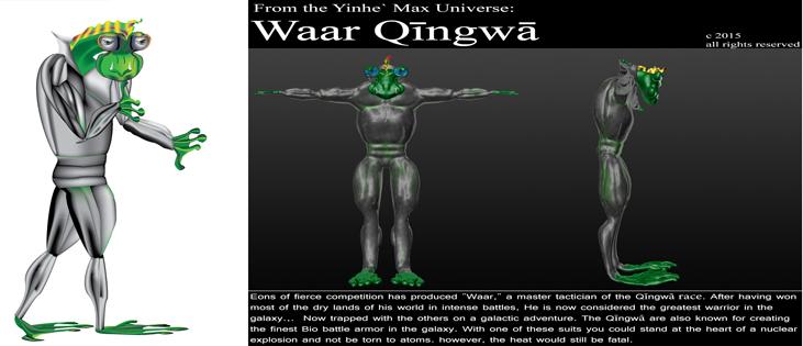 Yinhe` Max Universe: Waar Quingwa