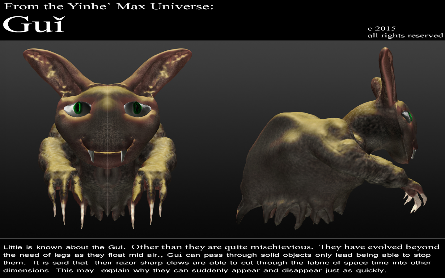 From th eYinhe` Max Universe: Gui