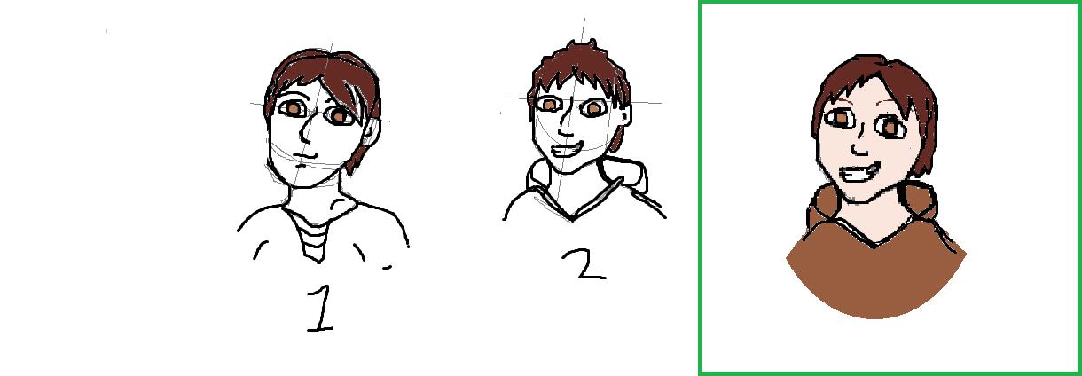 Oli Character design and development