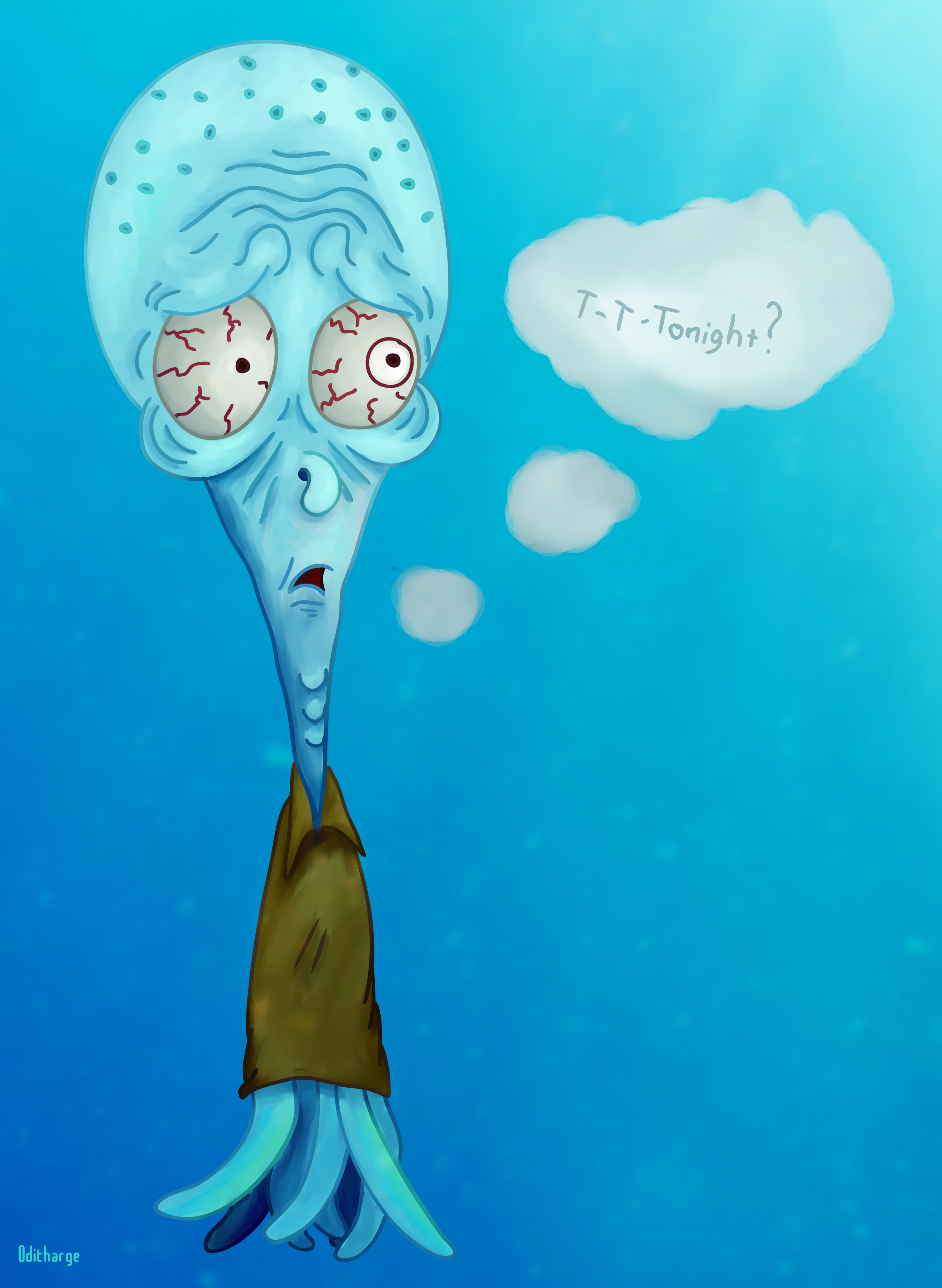 T-t-tonight? (Squidward)