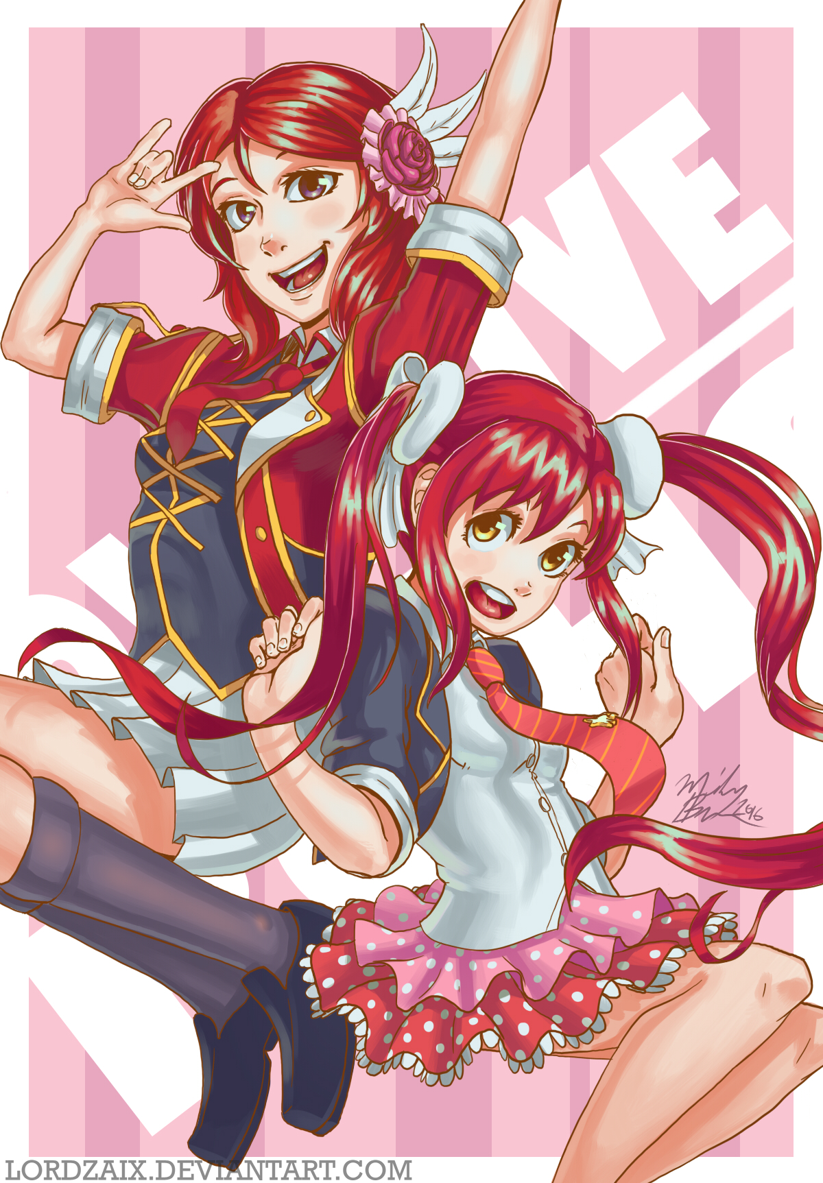 [Love Live X BGHS] Idol Power!
