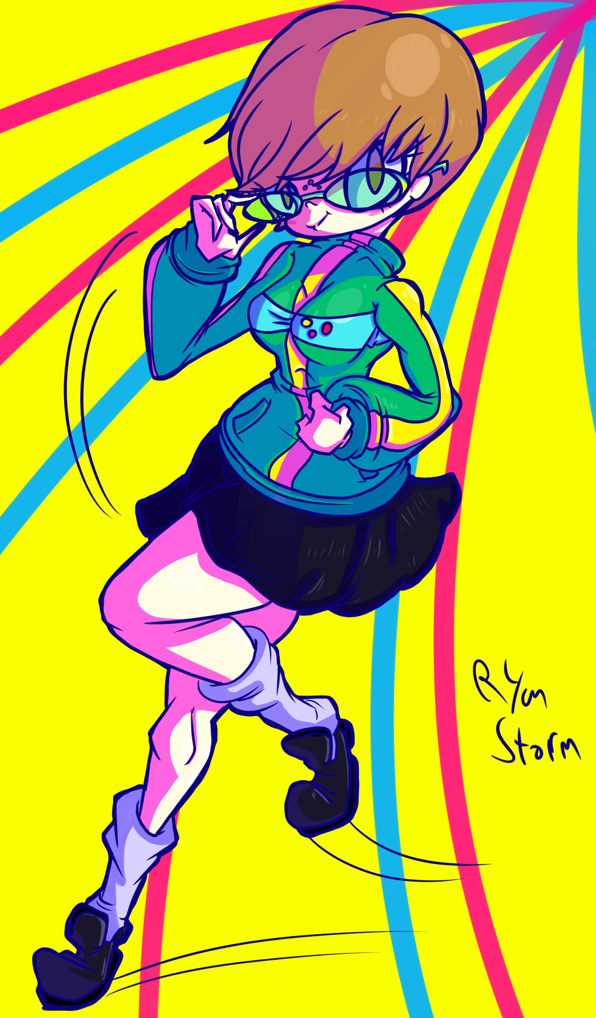 Woah Its a Chie