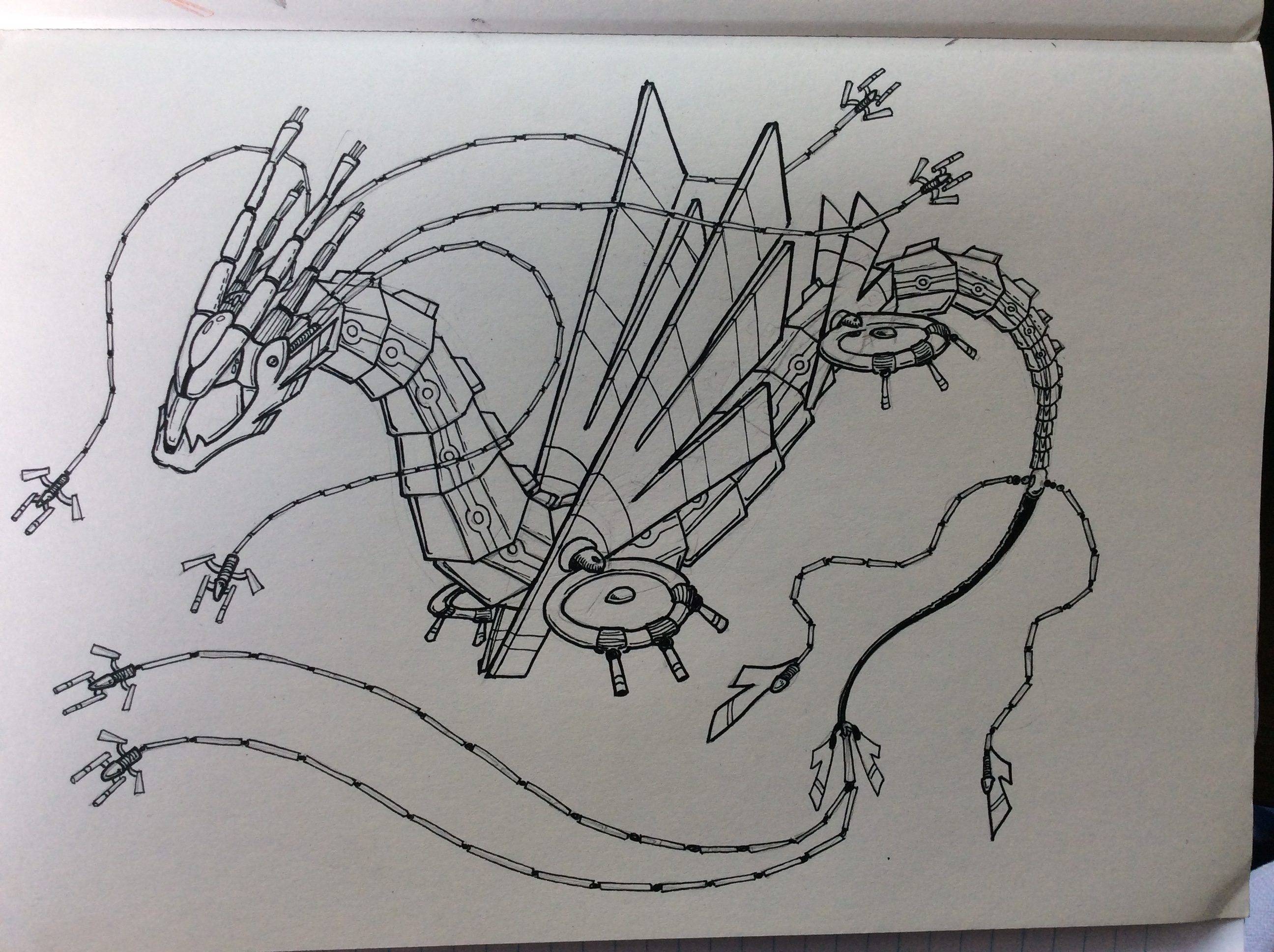 Cyber Dragon Concept Lifework
