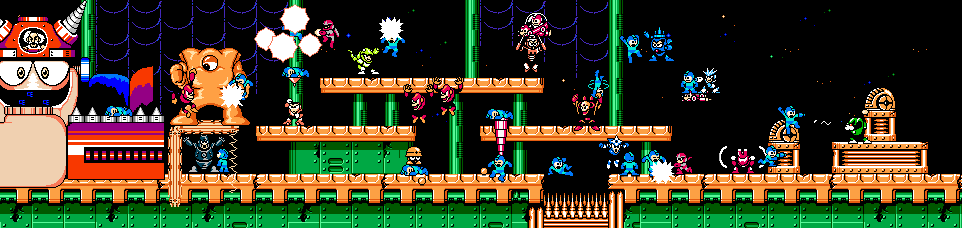 The many deaths of Megaman in Megaman 3