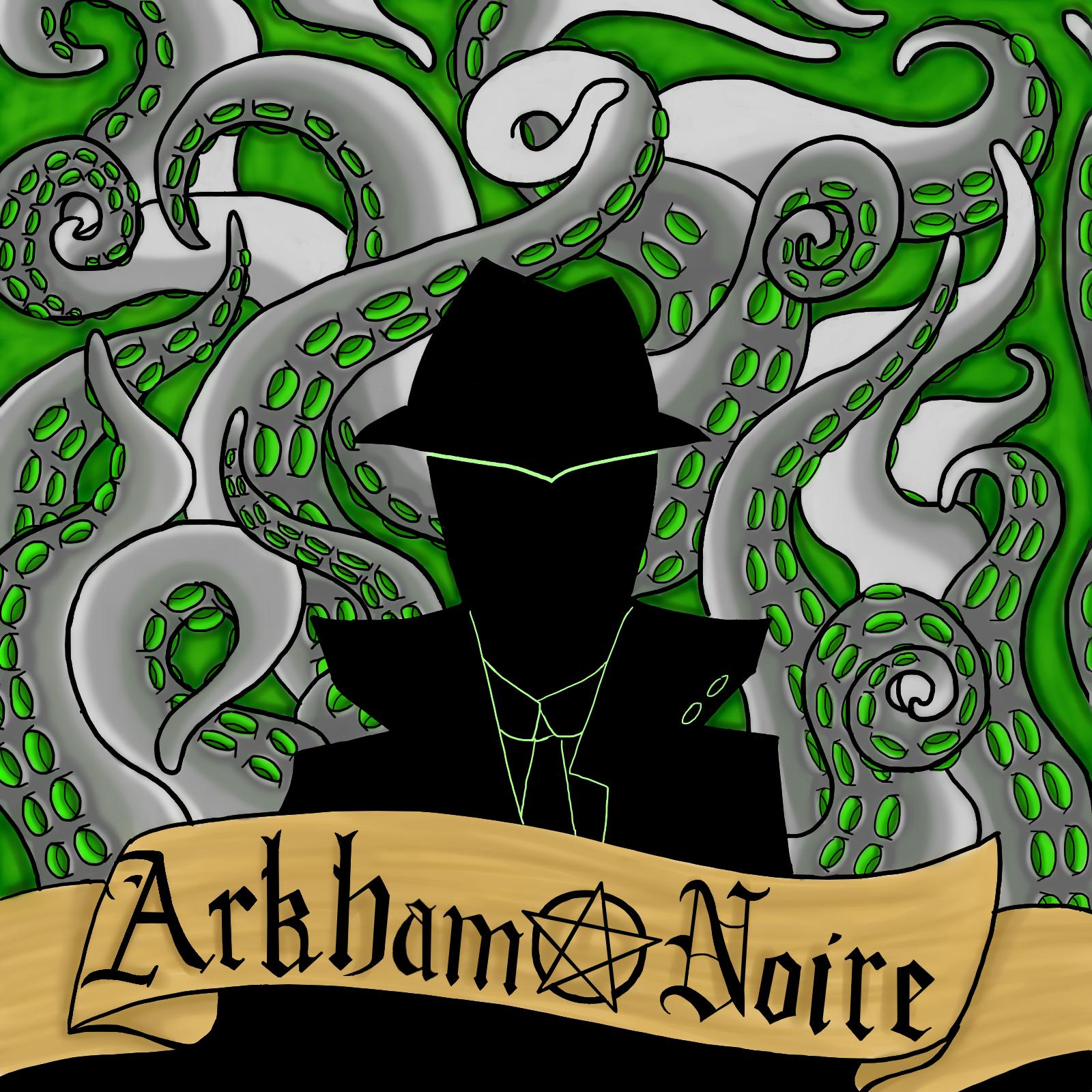 Arkham Noire Logo