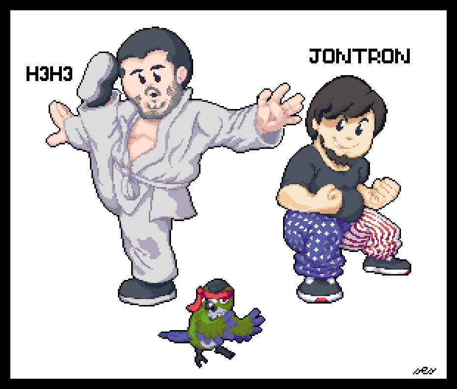 Jontron and H3H3 Learn Kung Fu