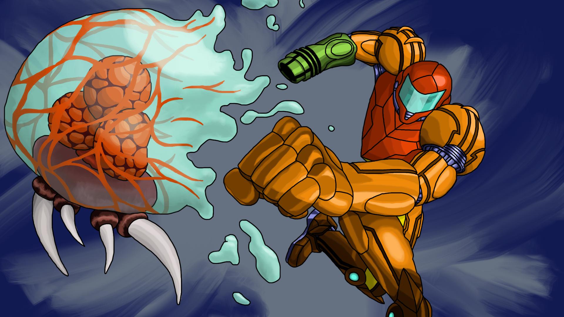 Metroid Punch