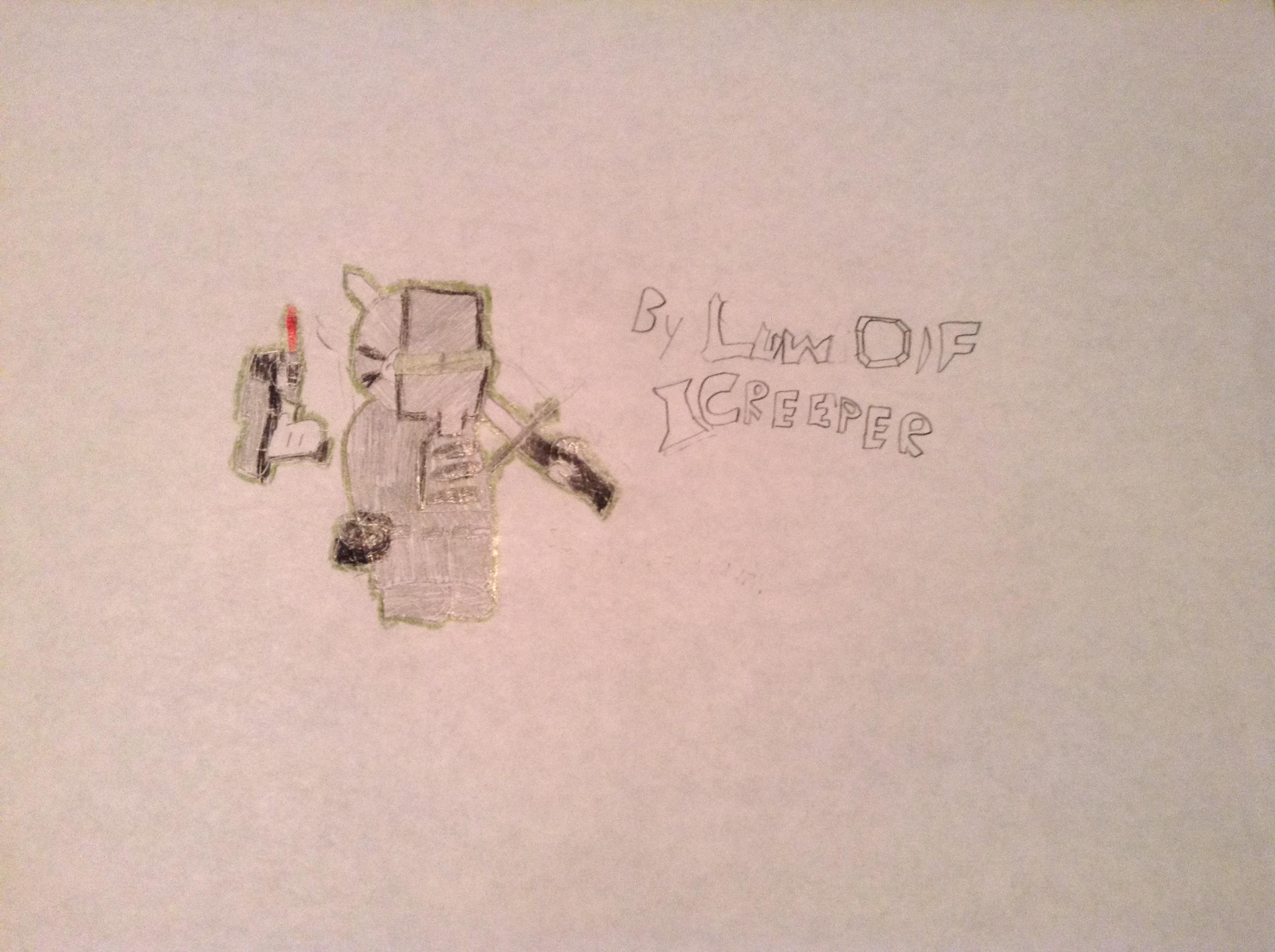 ICreeper Drawing