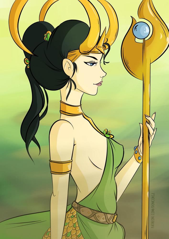 Loki - Female Genderbend