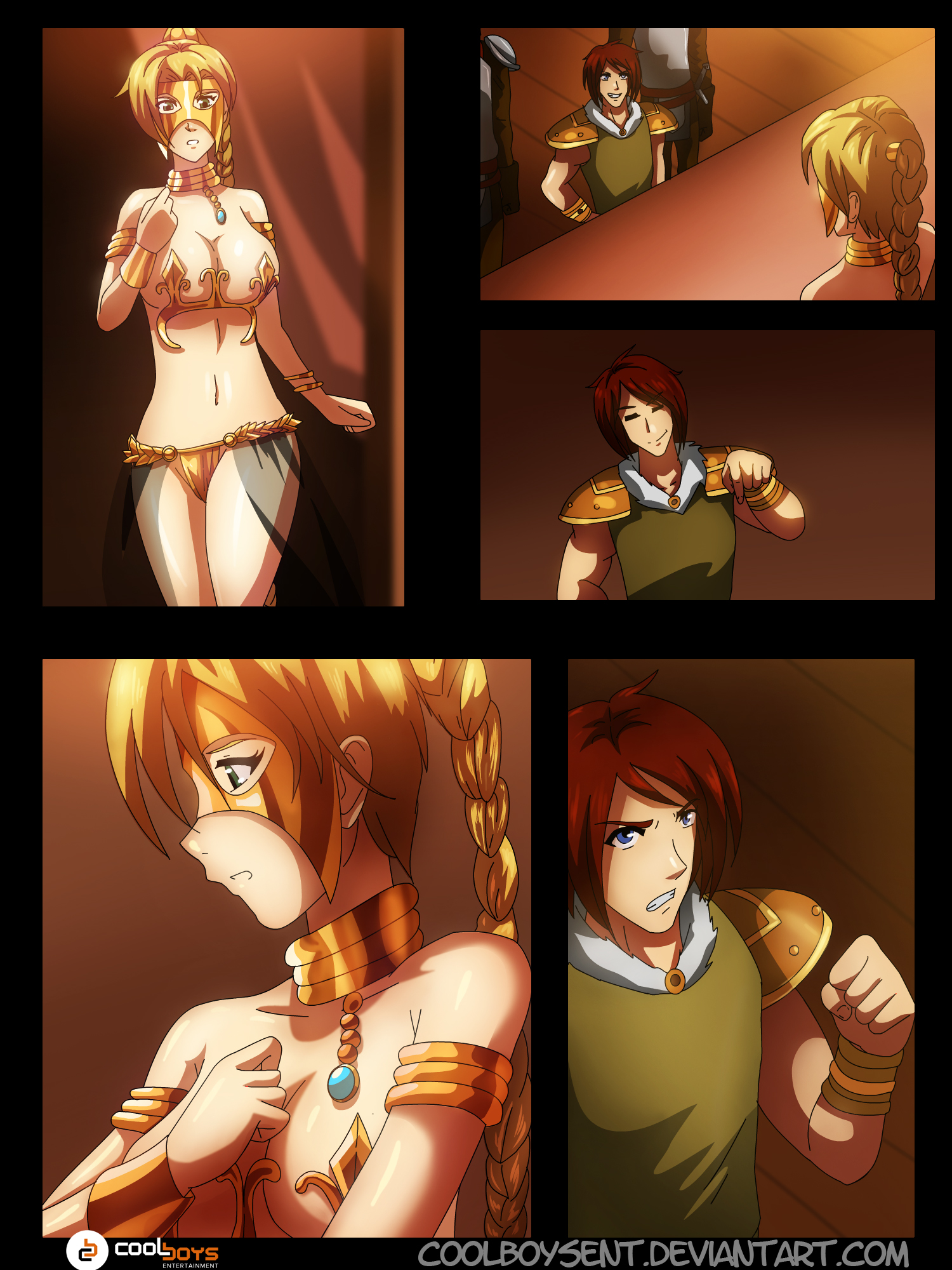 commission: manga page