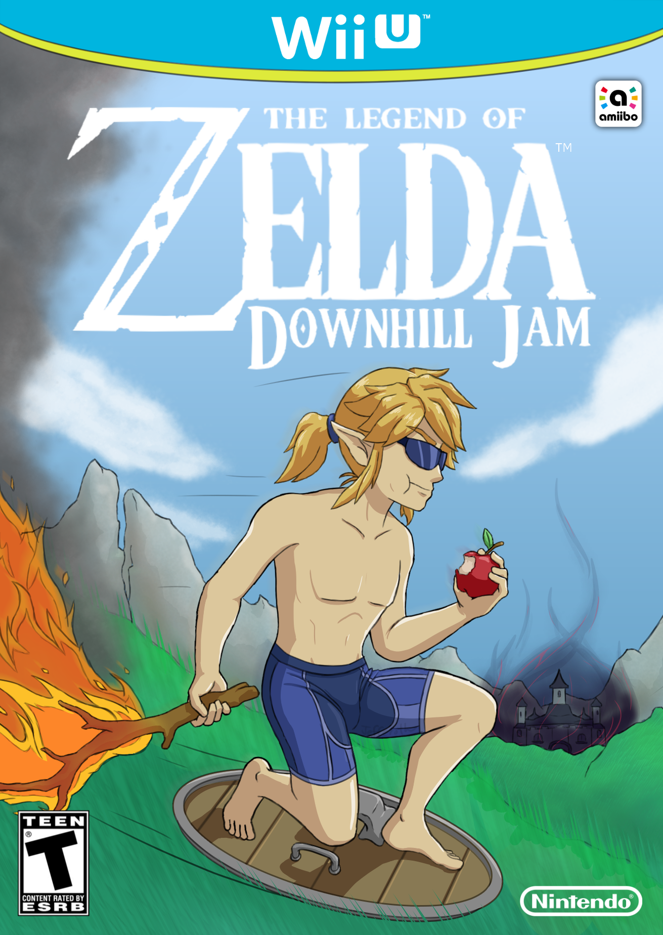 The Legend of Zelda Downhill Jam
