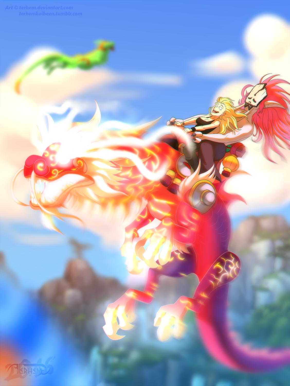 Cloud Serpent Ride