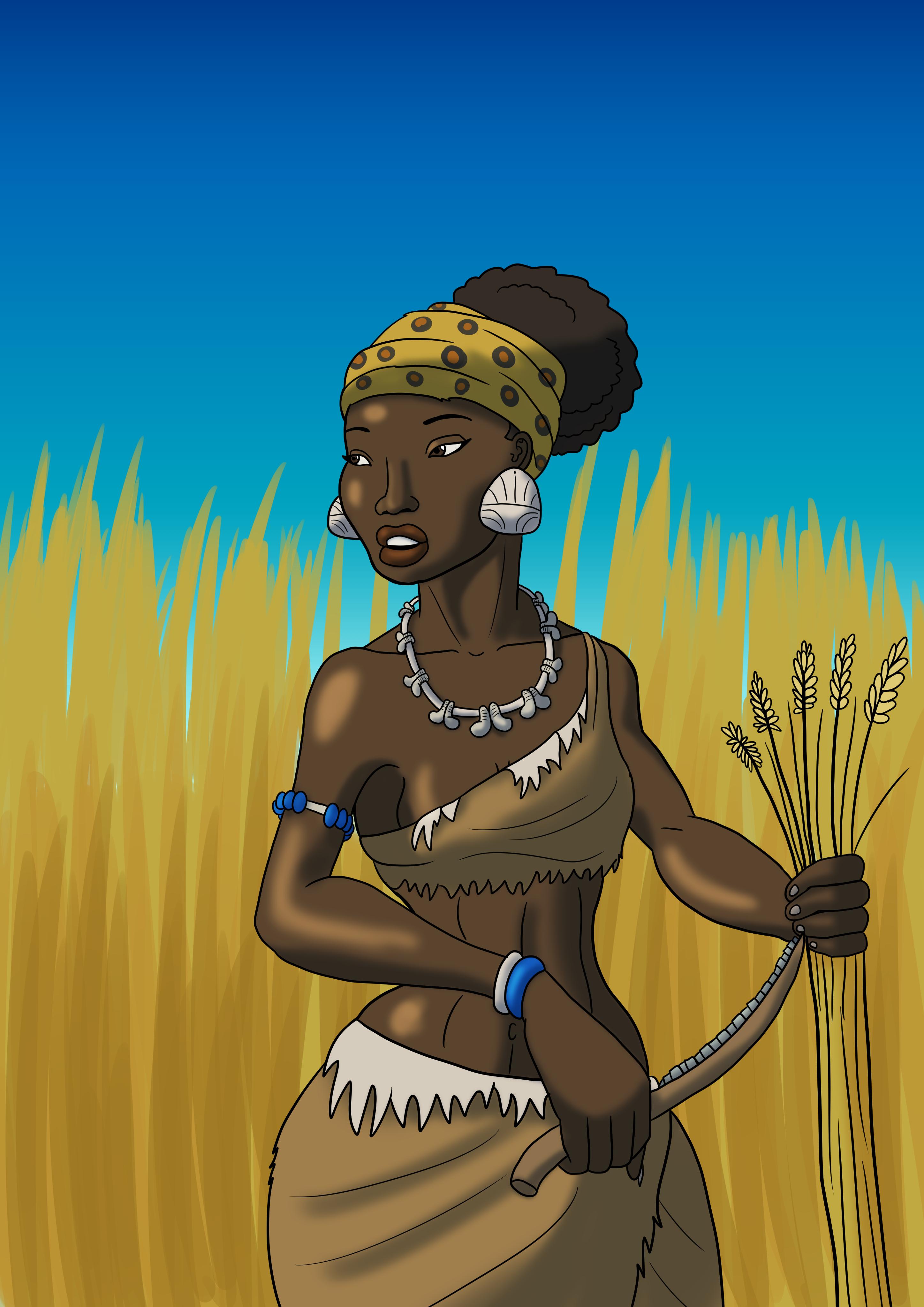 Natufian Woman