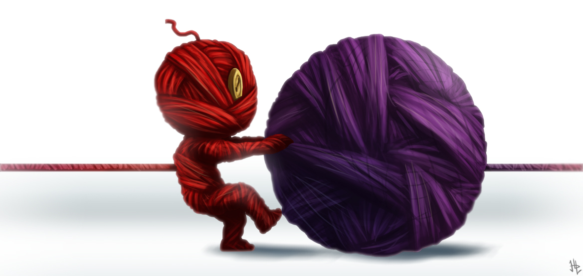 Pulling the String (IF - Yarn)
