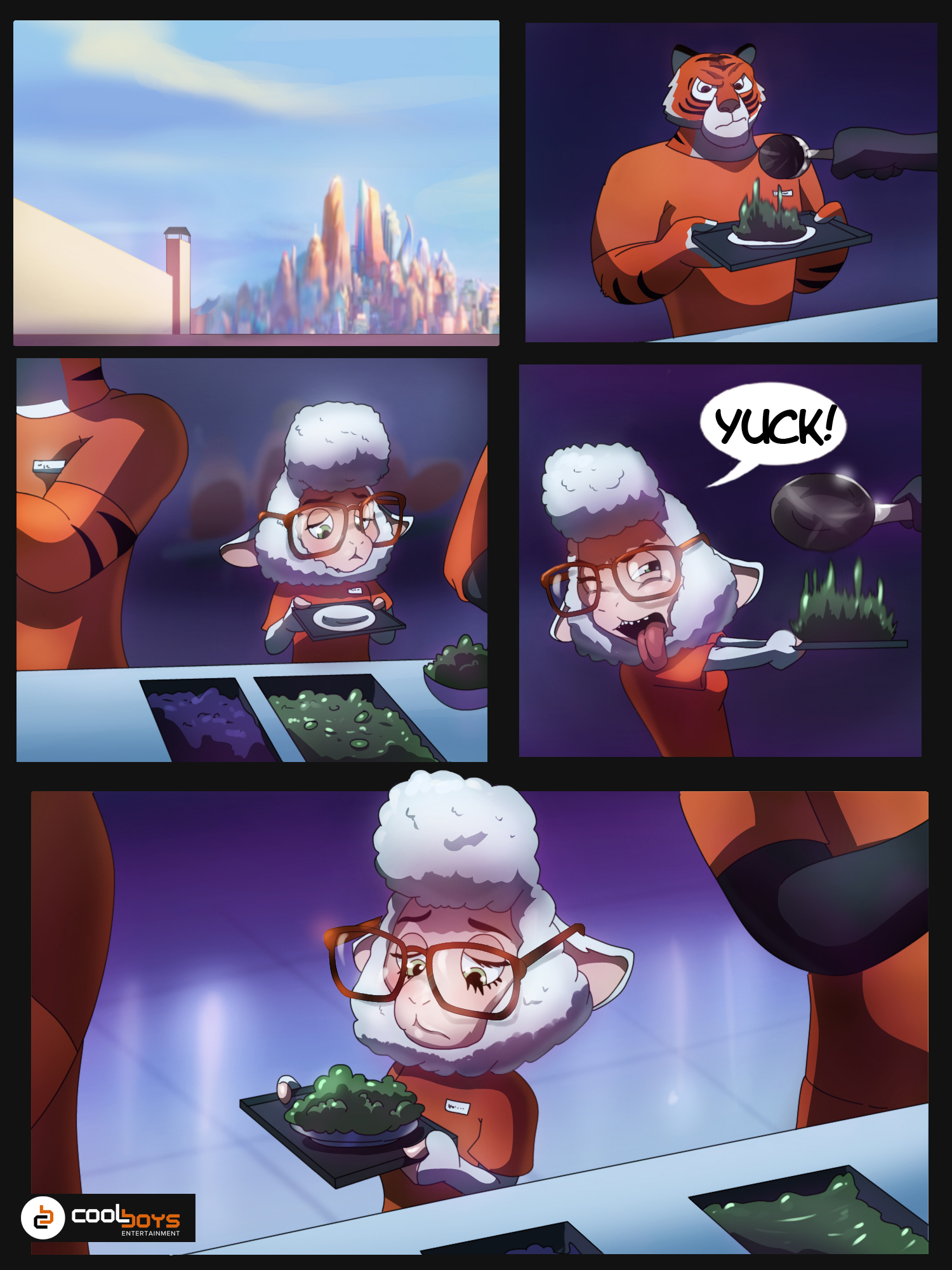 commission: zootopia comic 1