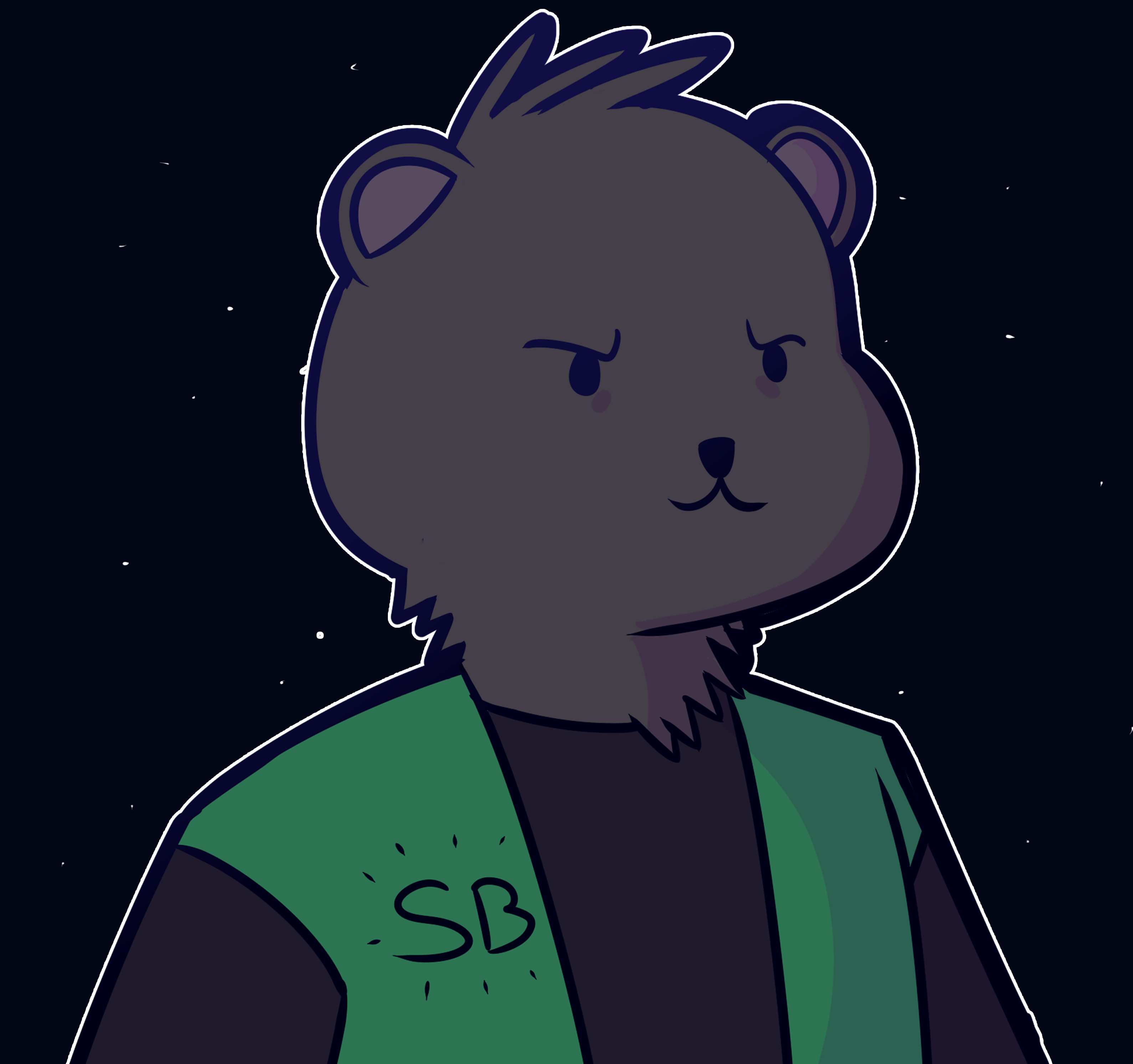 Commission Of a Bear Dude