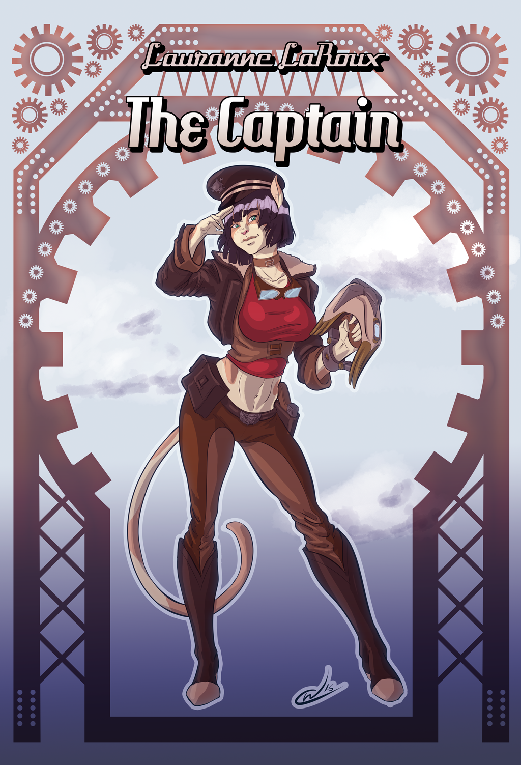 Lauranne LaRoux, The Captain