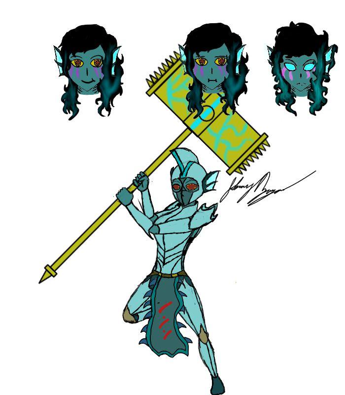 The Atlantean Queen