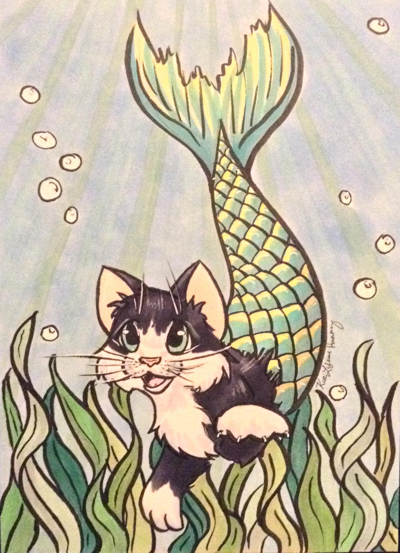 Mermaid Kitten