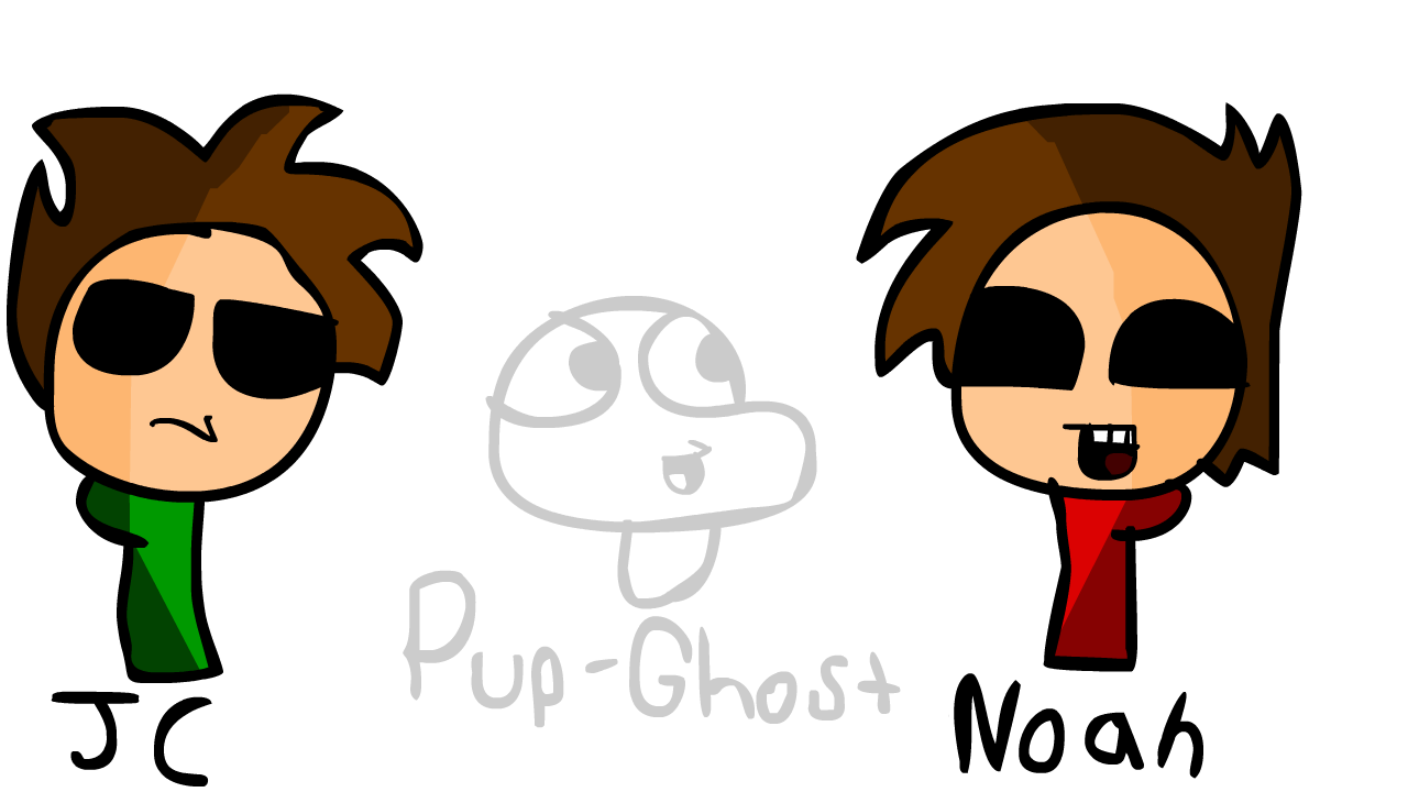 JC, Noah, and Pup-Ghost