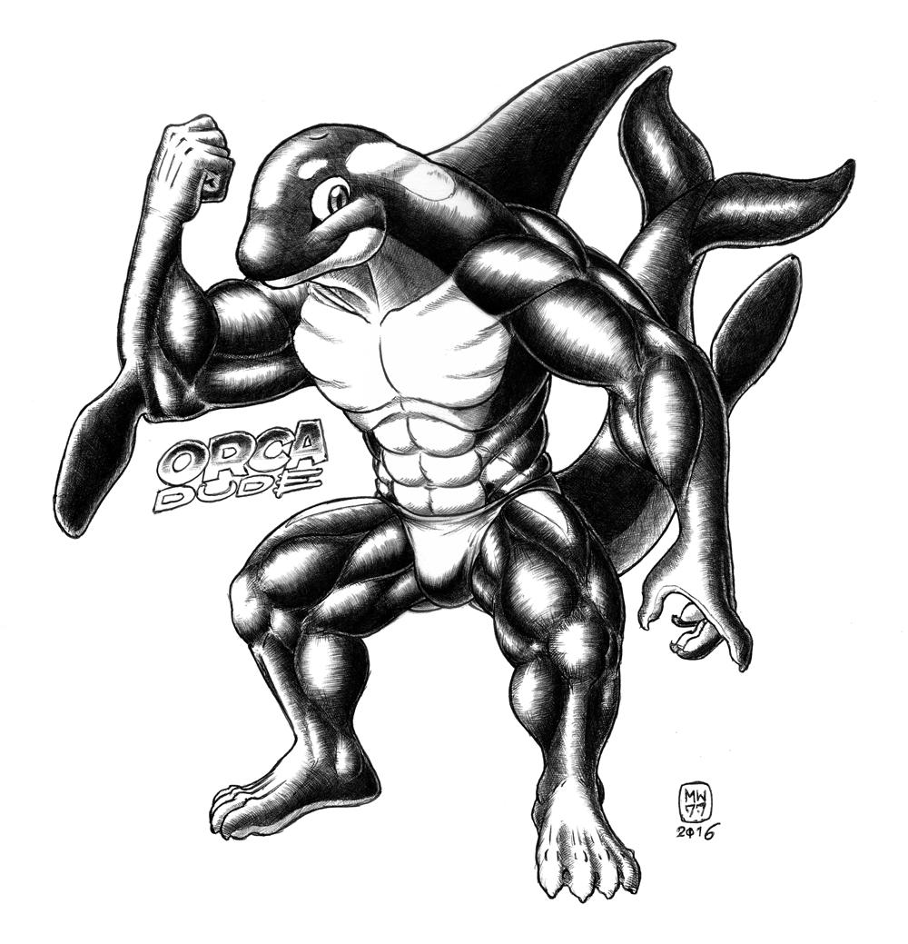 Orca Dude