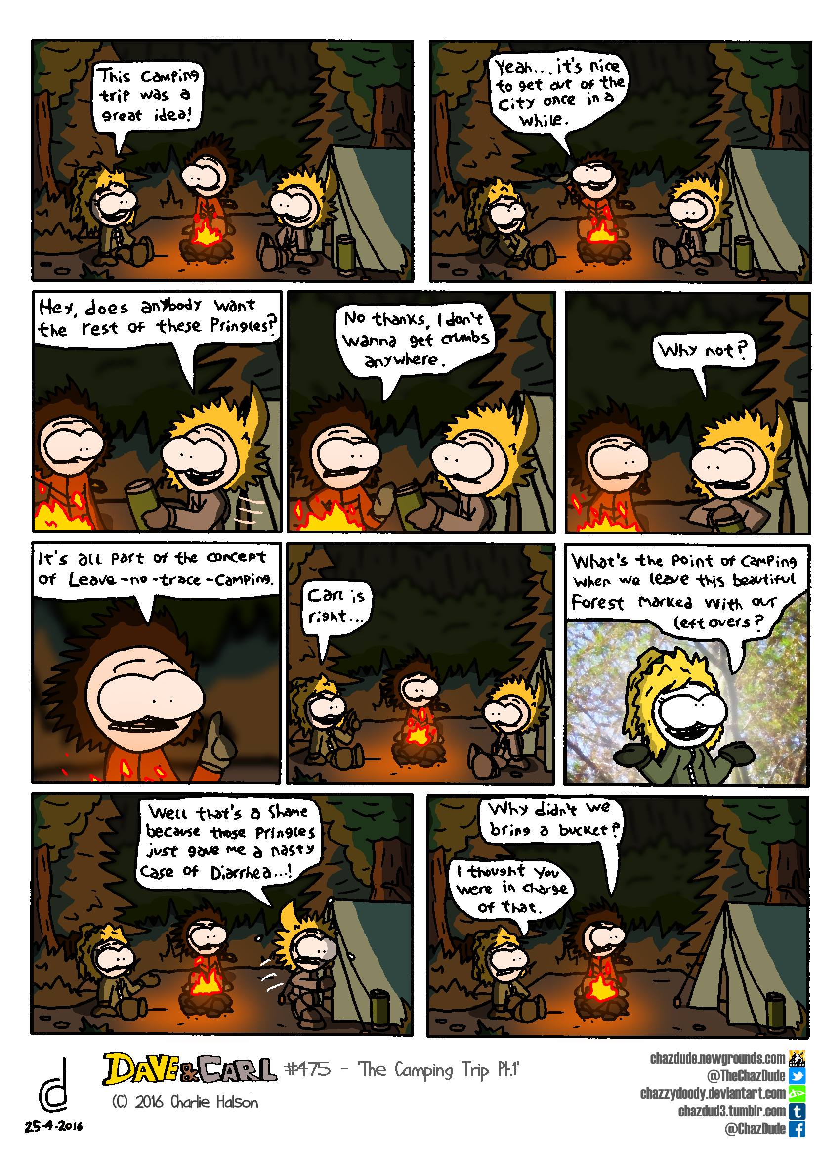 The Camping Trip Pt.1