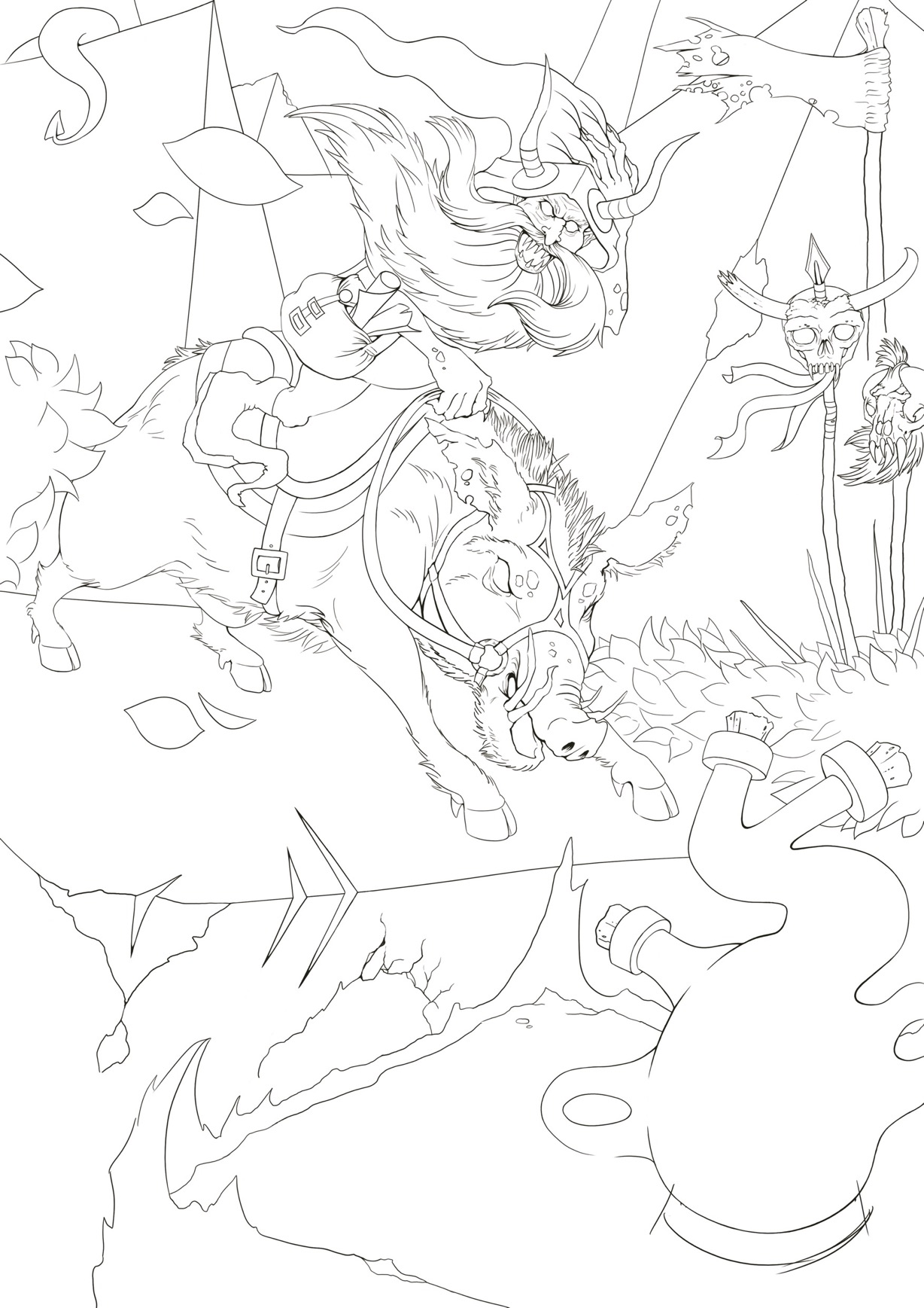 Demons Relic work in progress