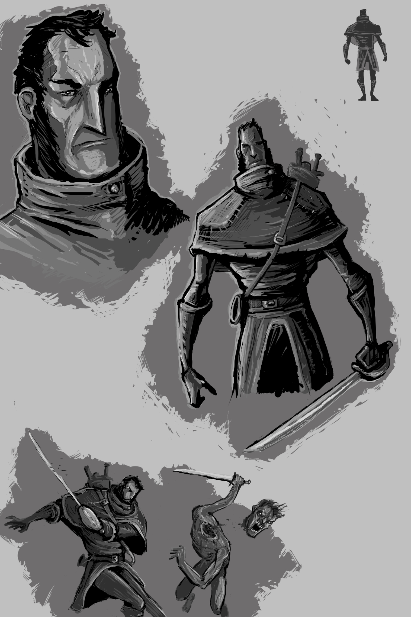 Character concept sketch 1