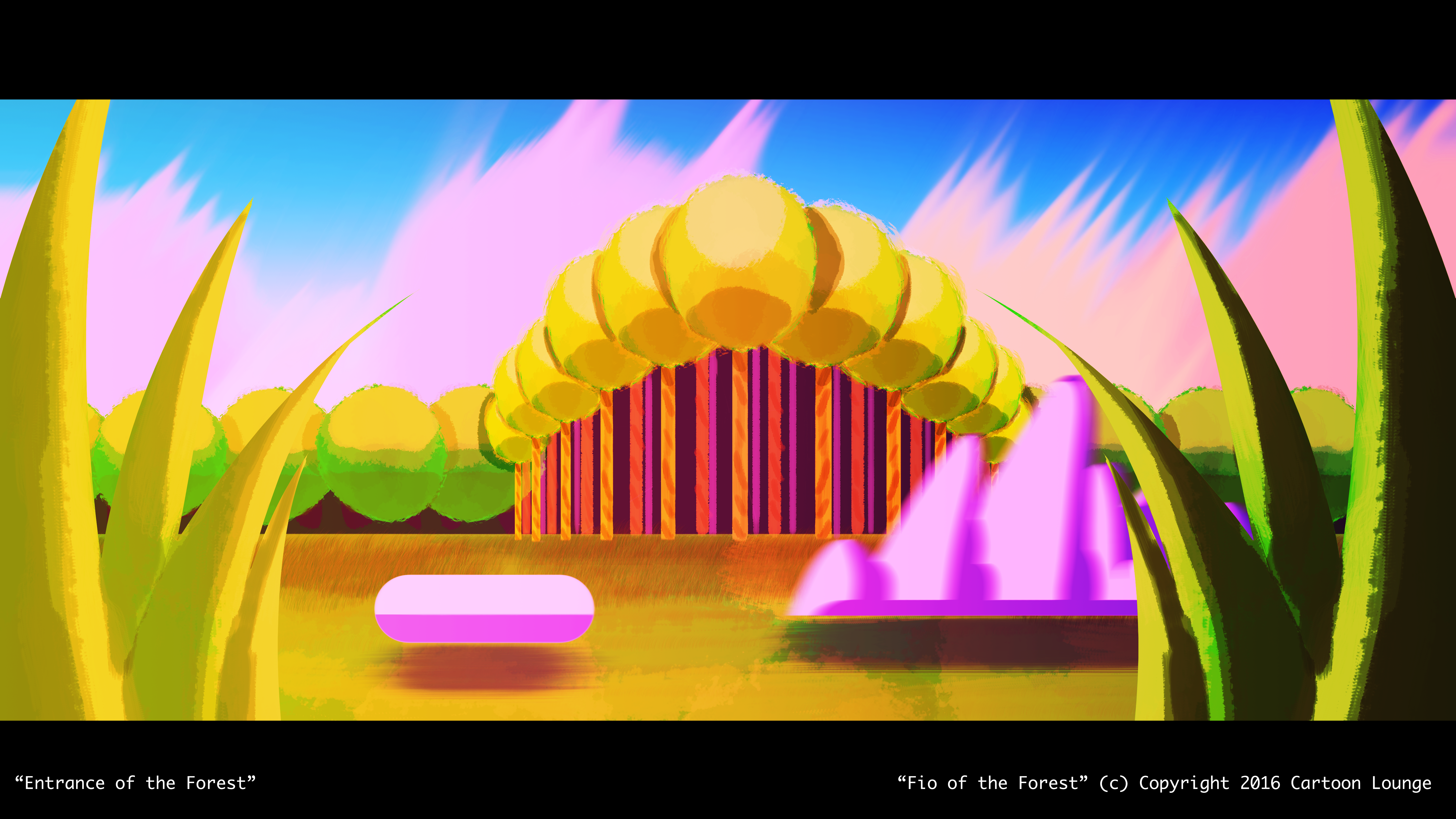 Fio and the Forest Conceptual Art