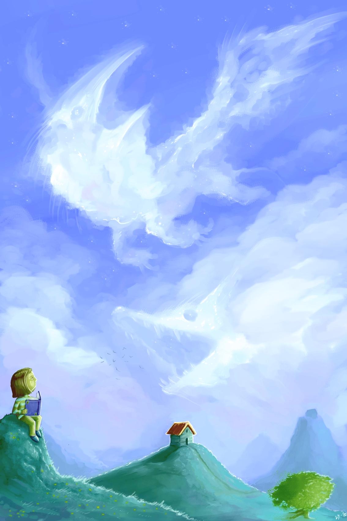 Bedtime stories (Cloud creatures)