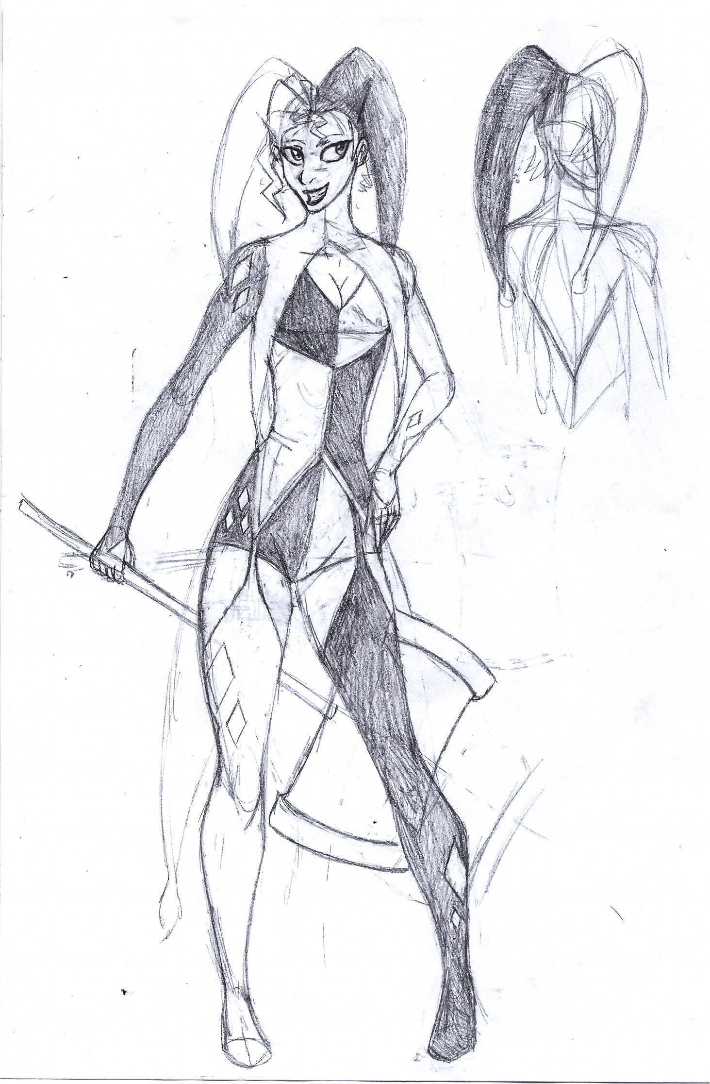 Harley Quinn redesign