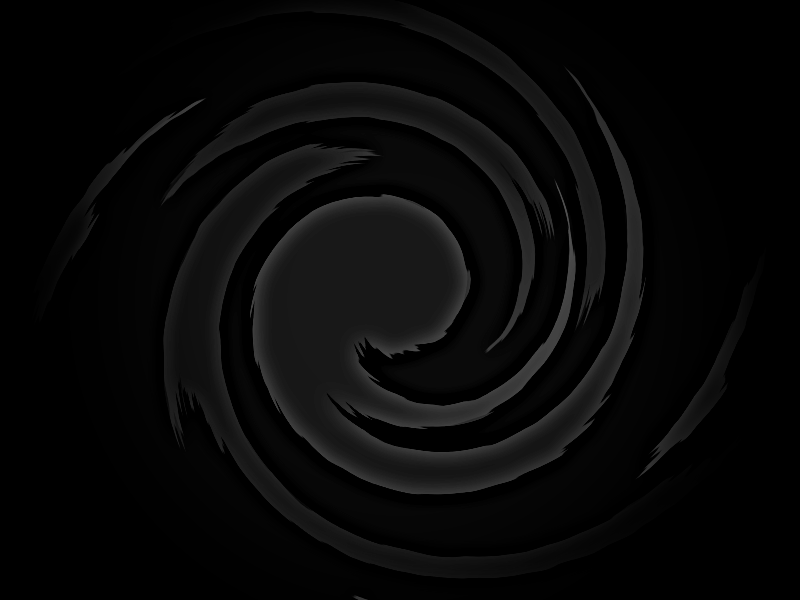 black swirly