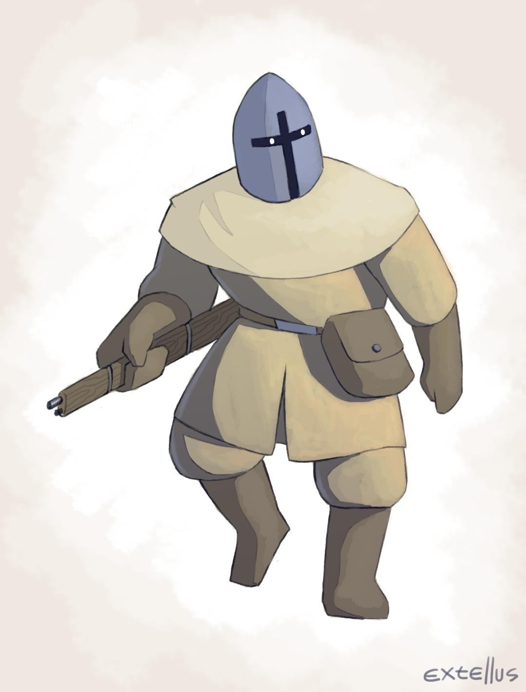 Rifle warrior