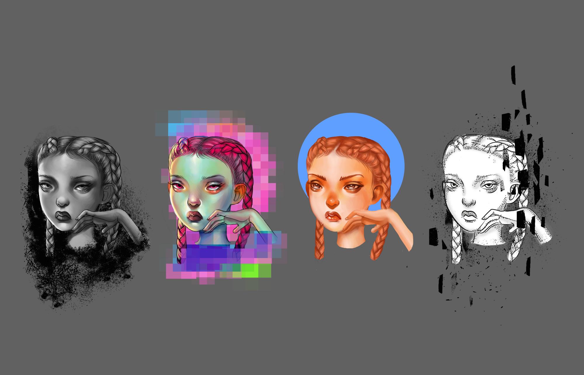 Portrait Style Experiments
