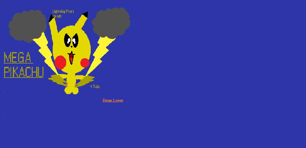 Mega Pikachu!