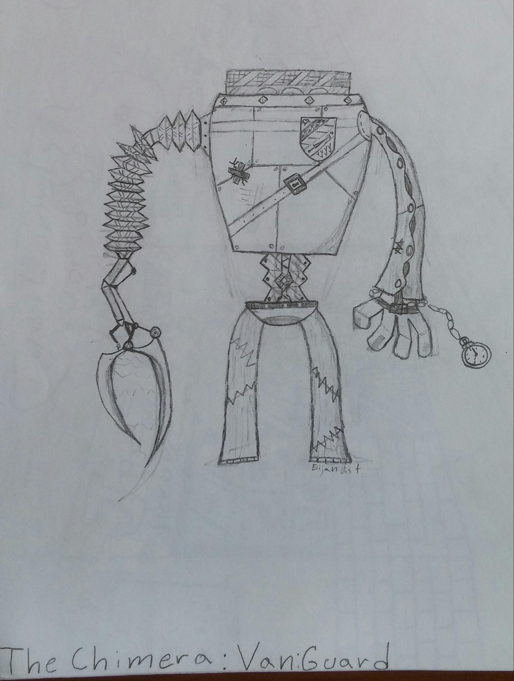 Robot's in my dreams