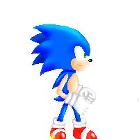 Sonic Sprite Concept