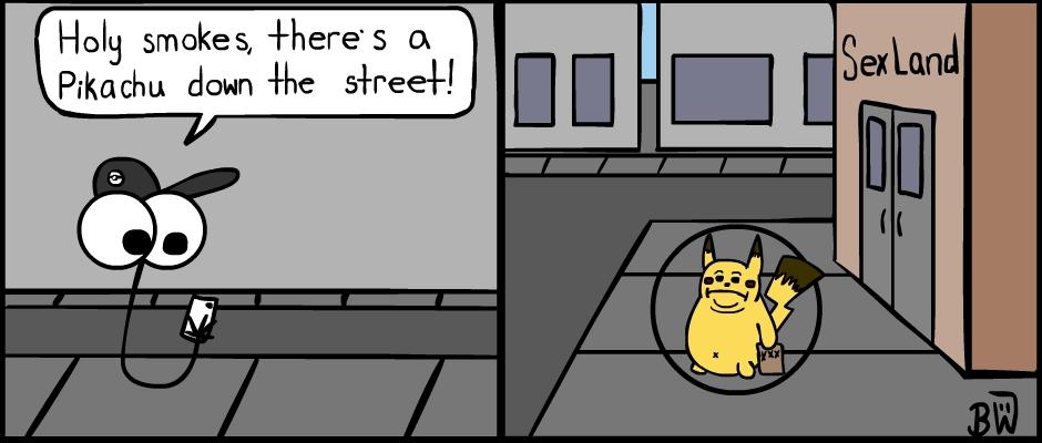 Pokemon Go Places