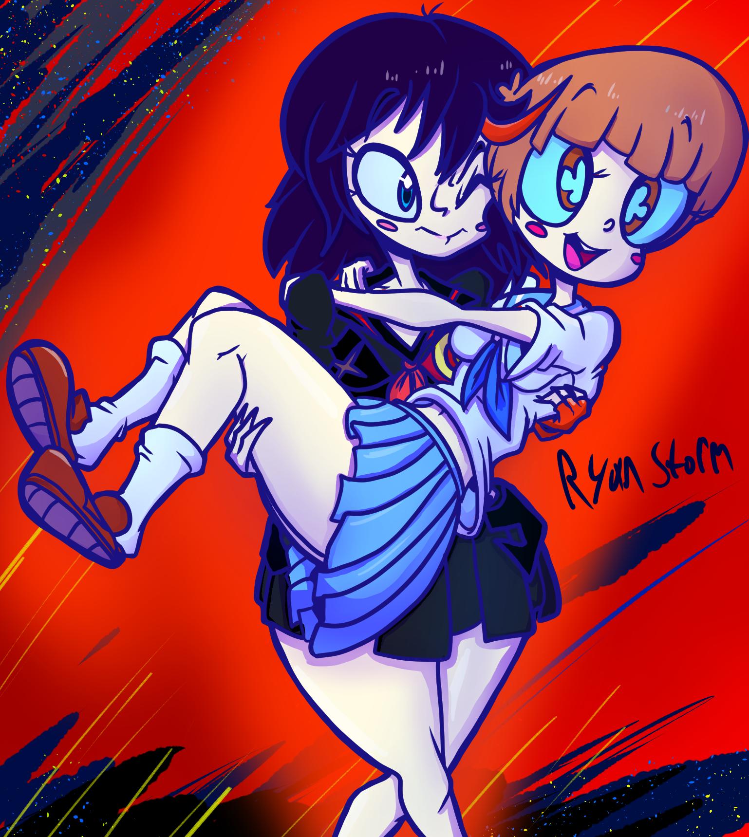 Ryuko and Mako
