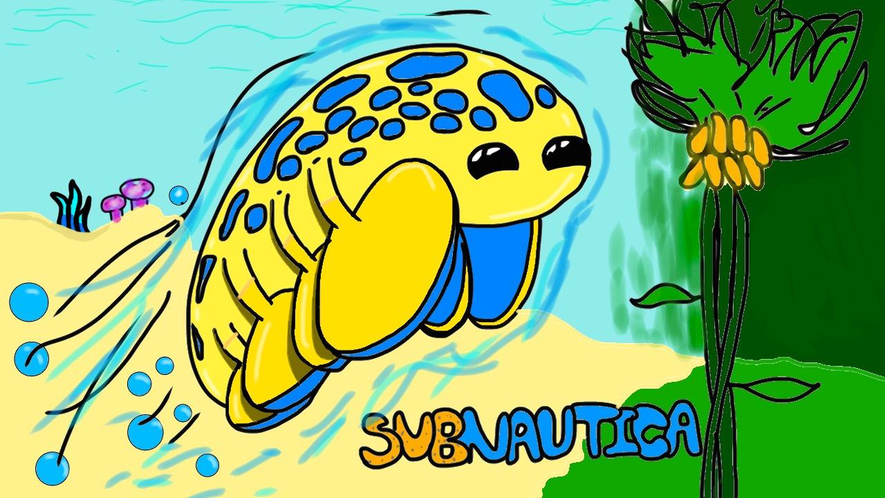 Subnautica - hoverfish