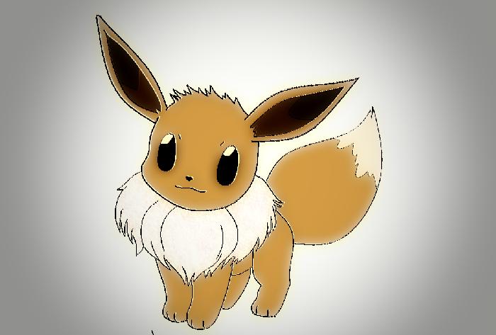 Pokemon Eevee Fan Art
