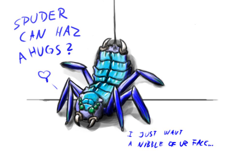 Spuder hugz