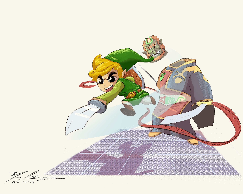 Link VS Ganon