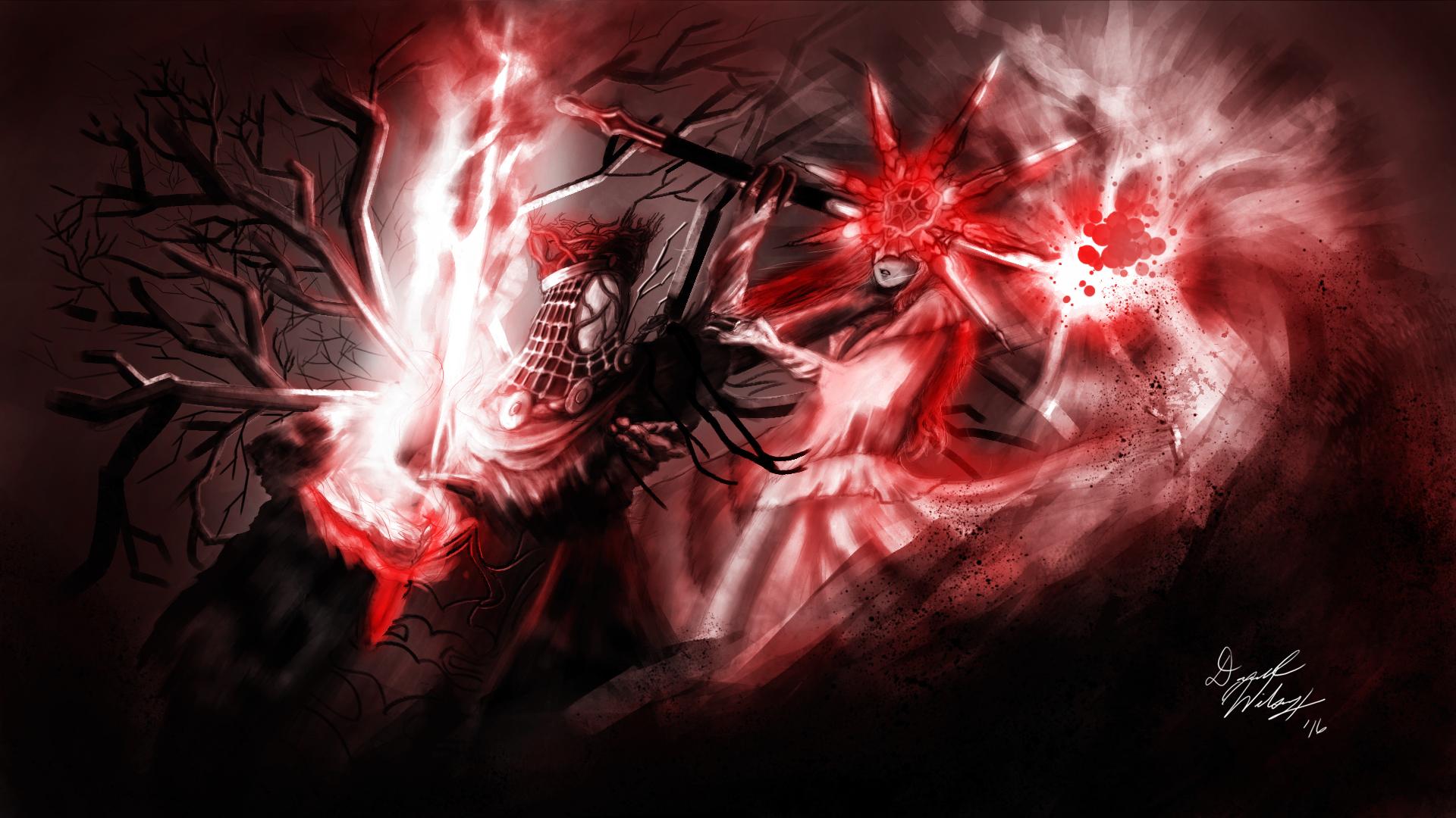 Fall of the Darkmoon (Fan Art)