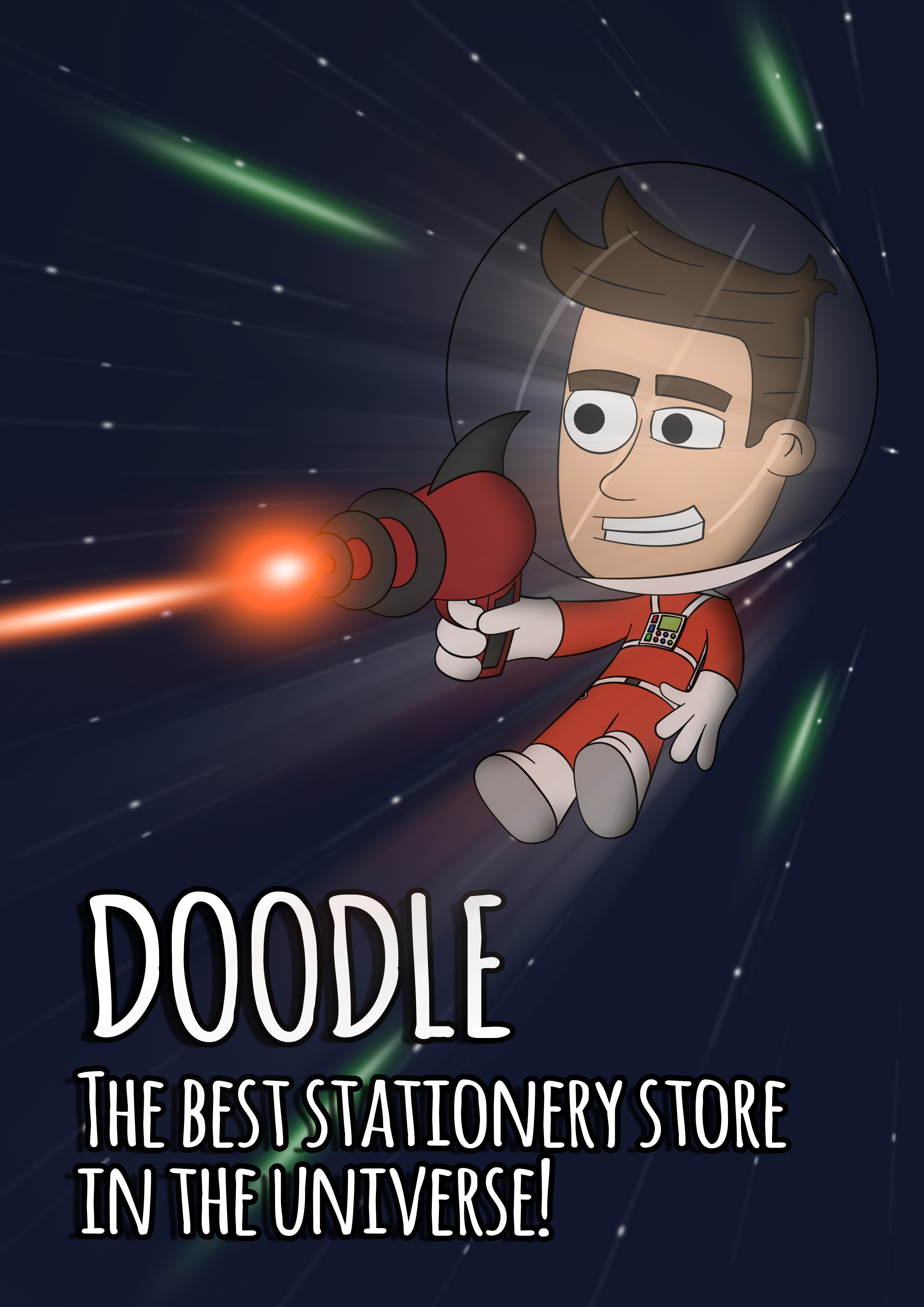 Doodle Character Poster 2