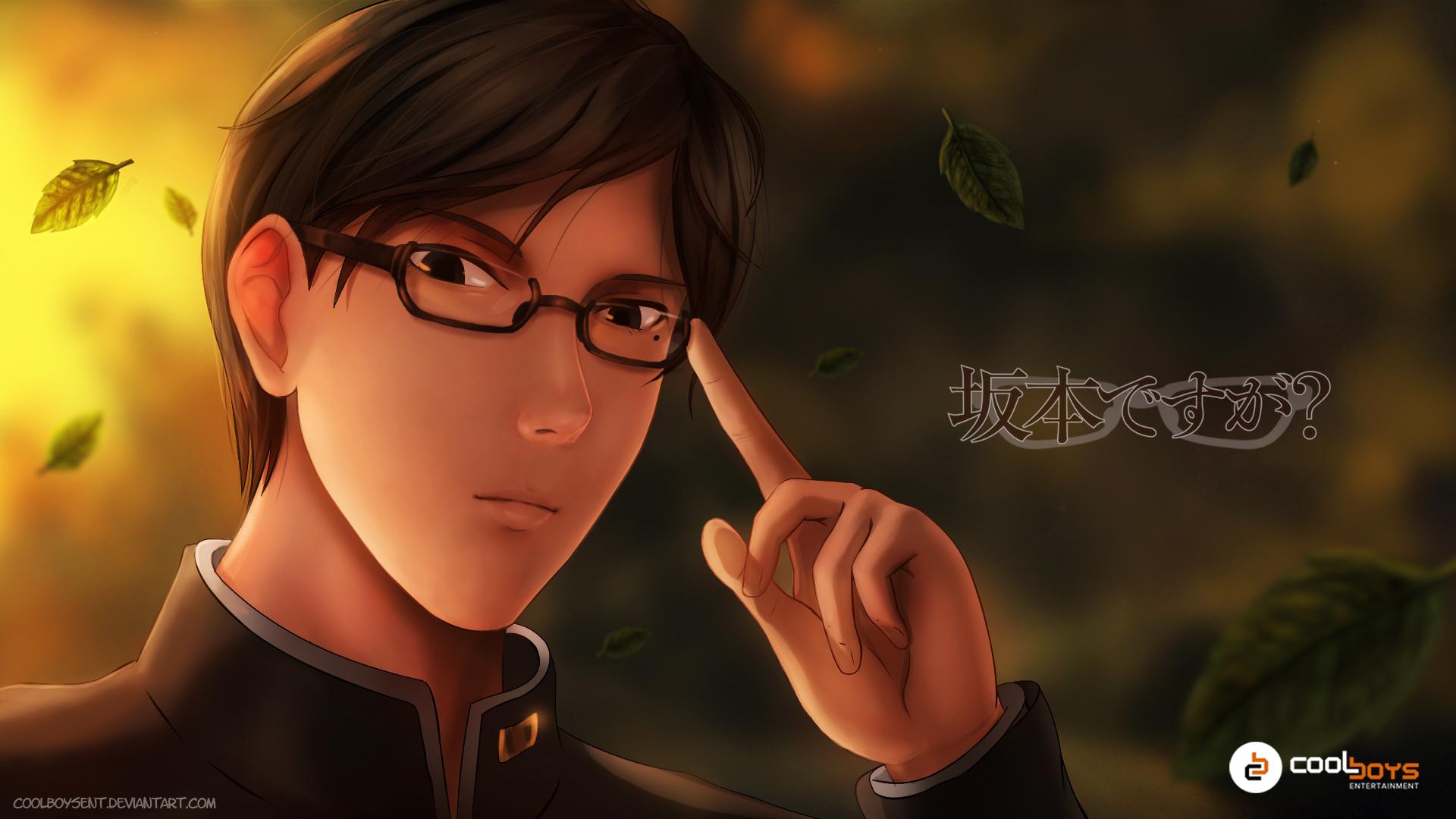 sakamoto desu ga fan art [with drawing video link]
