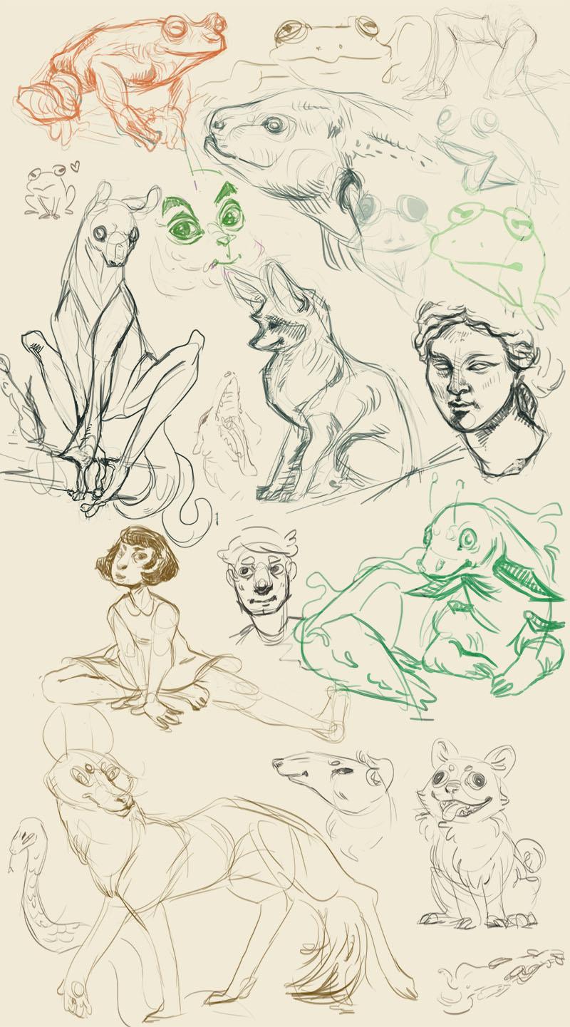 Sketch dump july 2016