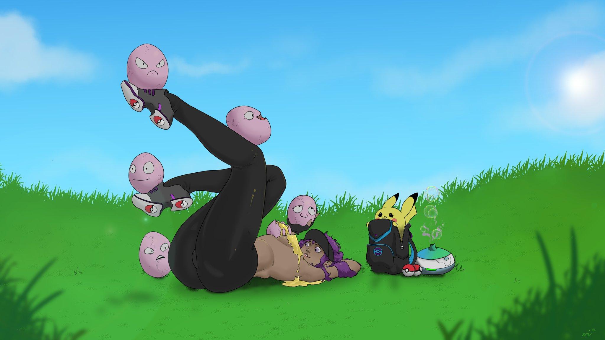 Pokemon Go Grill