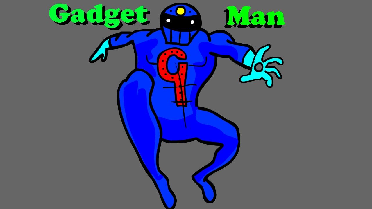 Gadget Man Original Super-Hero Art